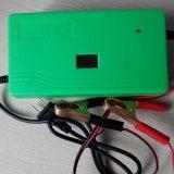 12V智能充电器电瓶电压显示短路反接保护汽车摩托充电器12V6A