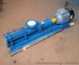 供应G30-2卫生级单螺杆泵|正宗304不锈钢材质配食品专用胶套|卫生耐用