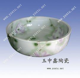 雕刻陶瓷艺术台盆 陶瓷洗脸盆