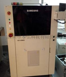 韩国PARMI二手SPI HS60在线3D锡膏厚度测试仪 SPI HS60检测机