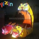 郑州易欣新款充气电瓶车外罩户外儿童玩具碰碰车厂家