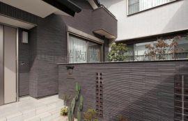 竹陶 纤影 筷子砖 高级别墅外墙 瓷砖