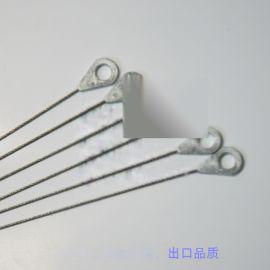 压铸锌头钢丝绳,钢丝绳打锌头加工