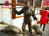 广安雕塑成厂家,人物动物卡通泥塑加工定制厂家