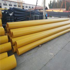 晋中 鑫龙日升 城市供暖管道DN350/377 高密度聚乙烯聚氨酯发泡保温钢管
