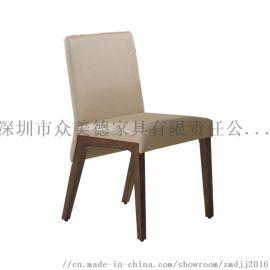 现代实木餐椅定做,咖啡厅椅子,餐厅家具厂