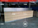 華爲3.0版木紋靠牆燈箱展示櫃