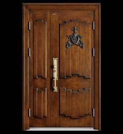 爱仕堡防盗门甲级防盗门 拼接安全门 铸铝门,**定制防盗门