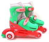 直排可调节儿童溜冰鞋滑冰鞋