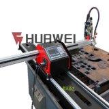 宝鸡微型数控切割机HNC-1500W便携式微型数控火焰切割机1.5米宽导轨价格