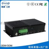 研凌工控電腦IBOX-101嵌入式工業電腦整機 工控機廠家直銷定製