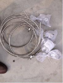 双支铠装热电阻WZPK2-134/WZPK2-135/WZPK2-136/WZPK2-138