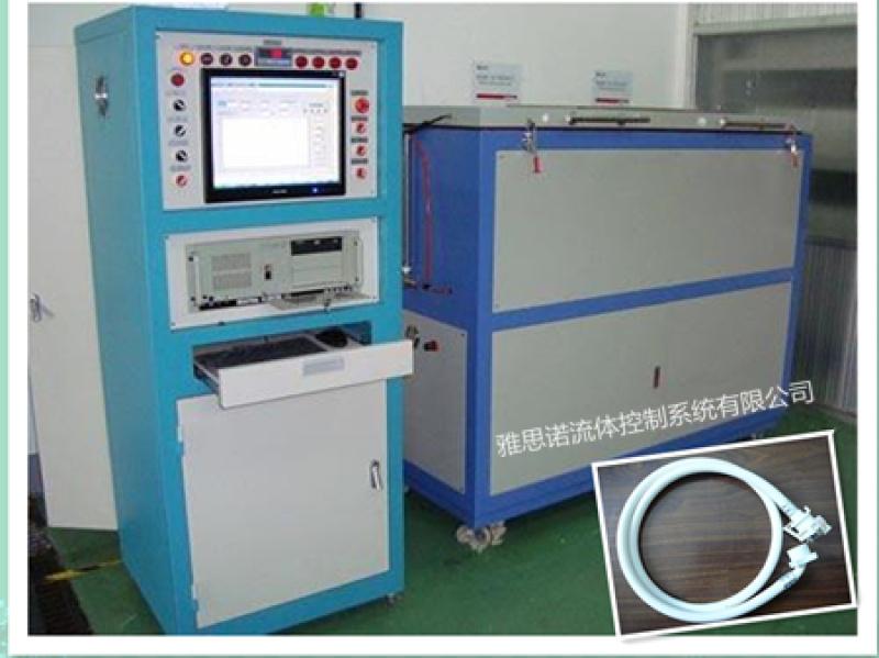 洗衣機進水管耐壓試驗檯-PU軟管耐壓破壞檢測裝置