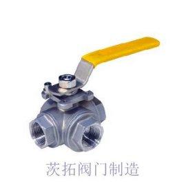 上海三通内螺纹球阀,Q14F/Q15F螺纹球阀实拍图