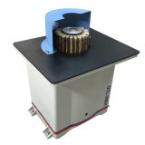 青島瑞佰納機械木工電動工具簡易異形拋光機小型臺式立柱曲面打磨機