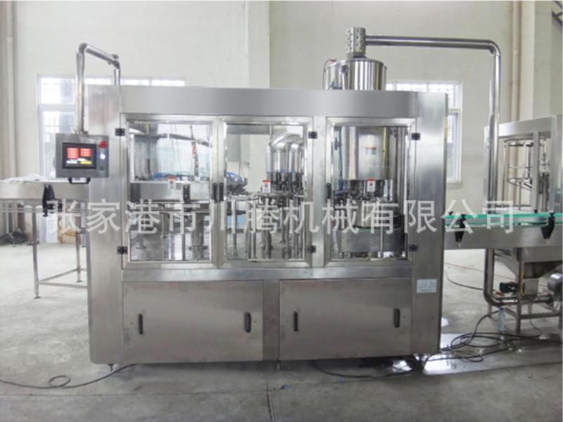 三合一液体灌装机 CGF-24纯净水灌装机