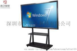 鑫飞85寸教学一体机液晶显示器电子白板触摸一体机
