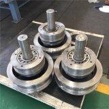 球鐵/圓鋼鍛制輪組125*110懸掛端樑歐式輪揚州