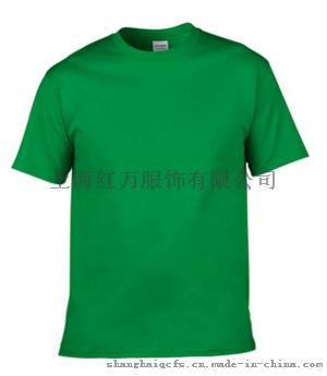 上海红万制服工作服供应T恤 全棉T恤 圆领 翻领