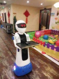 百航智能服务机器人送餐机器人迎宾点餐传菜端菜