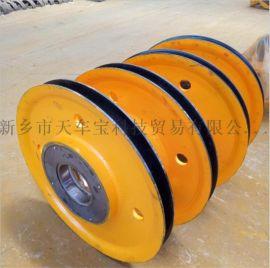 耐用型滑轮组 热轧滑轮片 吊环滑轮 吊钩滑轮