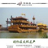 影視道具船定做 三國赤壁戰船 樓船廠家 明代福船