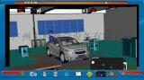 汽车发动机  底盘 车身电器构造与维修智能云平台 汽车仿真教学软件