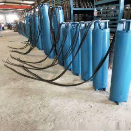 大功率QJ卧式潜水电泵  大型卧式潜水电泵