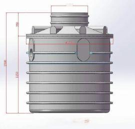 文远净化槽小型家用污水处理装置一体化污水处理设备