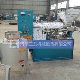 商用全自动葵花籽榨油机器厂家 新式螺旋炸油机