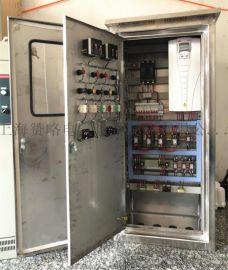 变频恒压变频水泵控制柜15kw一拖二一控二ABB变频器
