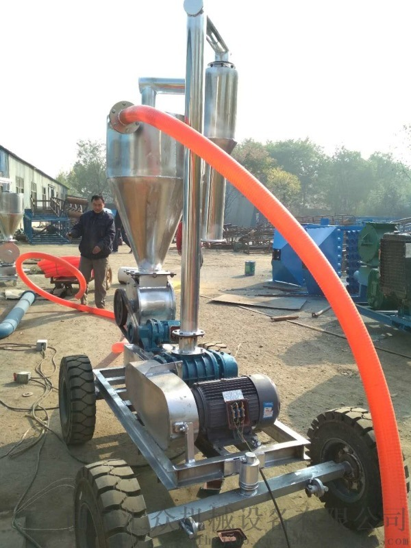 出仓除尘大型吸料机 价格低玉米气力吸粮机