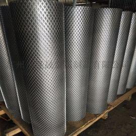【钢板网】拉伸菱形铁板网,喷漆钢板网围网