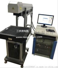 深圳二手大族160wco2激光打标机服装烫画镭雕机转让