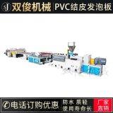 厂家供应PVC结皮发泡板生产线塑料板材生产成套设备