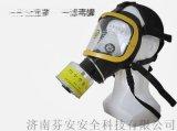 柱形防毒面具+7号滤毒罐 综合无机毒气滤毒罐