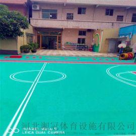 張掖市籃球場拼裝地板 廠家