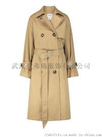 武汉女装进货服装市场【现货】歌力思短款女士风衣外套