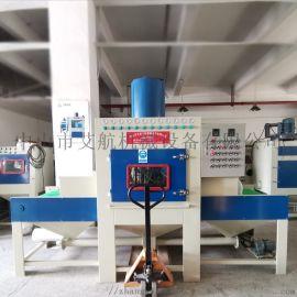 江门喷砂机厂家,铝氧化压铸表面处理自动喷砂机