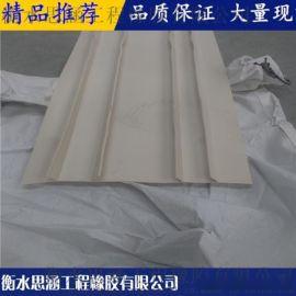 PVC塑料外貼式止水帶 鋼邊式 中埋式橡膠止水帶