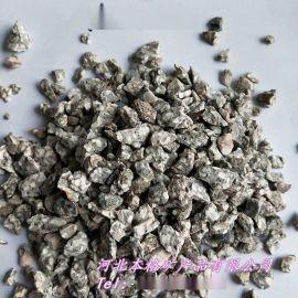 本格供应1-2mm水处理麦饭石 滤料麦饭石