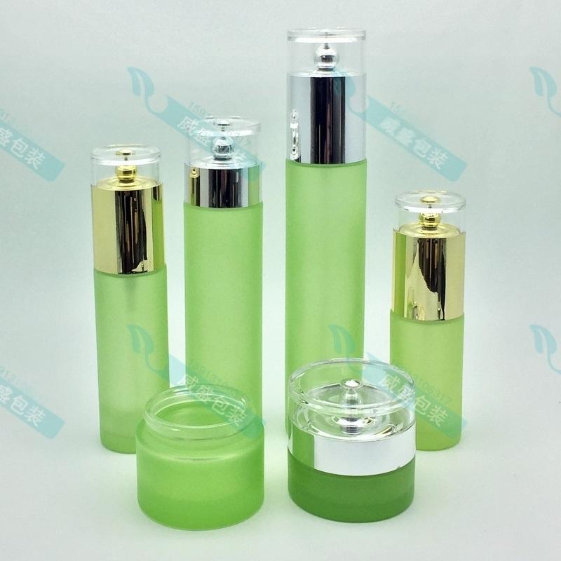 化妝品瓶子套裝 廣州化妝品玻璃瓶 眼霜瓶子