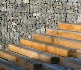 十字隔板包塑石笼网|PVC石笼网|退台式石笼网箱
