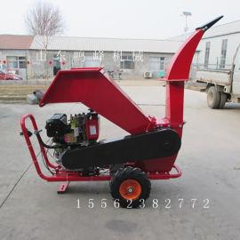 物业小区绿化树枝粉碎机,188柴油动力枝条粉碎机