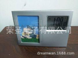 LCD相框钟 万年历电子钟 万年历相框电子钟 LCD电子秒表钟