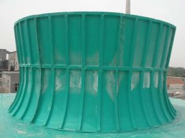 风筒、玻璃钢风筒、冷却塔风筒、冷却塔玻璃钢风筒