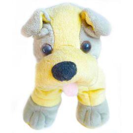 深圳毛絨加工廠定製填充毛絨玩具筆袋狗