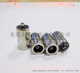 3.5四级铜镀镍,DC母座端子,DC母座