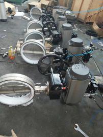 D671F46-10Q对夹式气动衬氟蝶阀