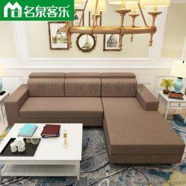 **软包家具020-5-2.8米客厅家具沙发